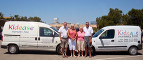 Kidease Nursery Hire Spain Team Picture